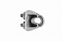 2 Wire Rope Clip, stainless steel AISI 316