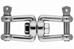 10x94 Jaw and jaw swivel, stainless steel AISI 316
