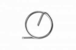 1.2 Ring pin, stainless steel AISI 316
