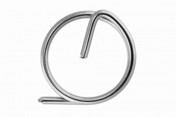 1.9 Ring pin, stainless steel AISI 316