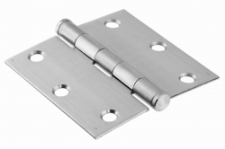 75x39 Hinge, heavy duty, stainless steel AISI 304