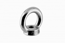 M6 Lifting Eye Nut DIN 582, stainless steel AISI 316