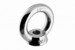 M10 Lifting Eye Nut DIN 582, stainless steel AISI 316