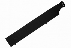 120x1120 Long Bag, black polyester