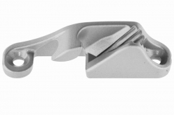 3-6 Racing Side Entry Clamcleat CL218-I, port, aluminium, silver finish