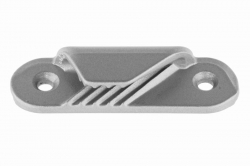 3-6 Racing Fine Line Starboard Clamcleat CL258, aluminium, silver finish