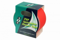 PSP Spinnaker Repair Tape, 50 mm x 4.5m, red