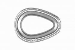 6 Wire Thimble Closed Heavy-duty, stainless steel AISI 316