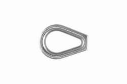 2 Wire Thimble Closed Heavy-duty, stainless steel AISI 316