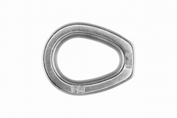 4 Wire Thimble Closed Heavy-duty, stainless steel AISI 316