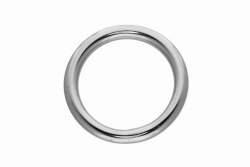 5x30 Ring Welded and Polished, stainless steel AISI 316