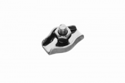 2 Wire Rope Simplex Clip, stainless steel AISI 316