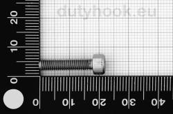 M4x18 Socket Head Cap Screw, DIN 912, stainless steel AISI 316
