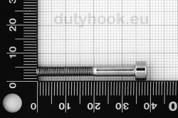 M4x35 Socket Head Cap Screw, DIN 912, stainless steel AISI 316