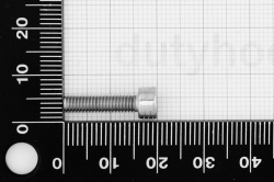 M4x16 Socket Head Cap Screw, DIN 912, stainless steel AISI 304