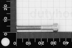 M4x30 Socket Head Cap Screw, DIN 912, stainless steel AISI 304