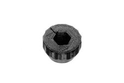 Dutyhook 3D Printed Knob for M5 Nut, black plastic