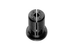 Dutyhook 3D Printed 12 - 20 mm Dowel, black plastic