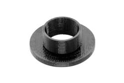 Dutyhook 3D Printed M12 Flat Collar, black plastic