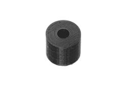 Dutyhook 3D Printed M4 Spacer, black plastic