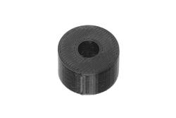 Dutyhook 3D Printed M6 Spacer, black plastic