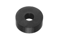 Dutyhook 3D Printed M10 Spacer, black plastic