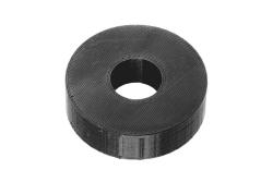 Dutyhook 3D Printed M12 Spacer, black plastic