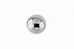 M6x15 Massive Ball, polished, with internal thread, stainless steel AISI 304