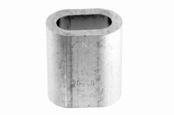 10 Ferrule DIN 3093, aluminium