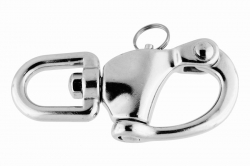 11x125 Quick Release Swivel Snap Shackle, stainless steel AISI 316