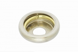 Durable Dot Socket, nickel finish brass