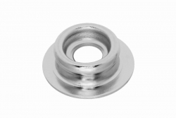 Durable Dot Stud, nickel finish brass