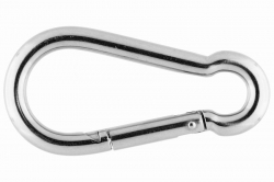 11x120 Symmetric Carbine Hook, stainless steel AISI 316