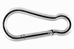 12x140 Symmetric Carbine Hook, stainless steel AISI 316