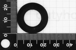 M12 Washer DIN 125, black plastic