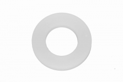 M10 Washer DIN 125, white plastic