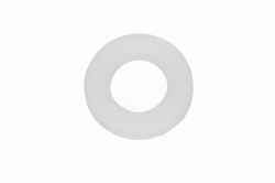 M8 Washer DIN 125, white plastic