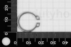 15 External Retaining Ring DIN 471, stainless steel DIN 1.4122